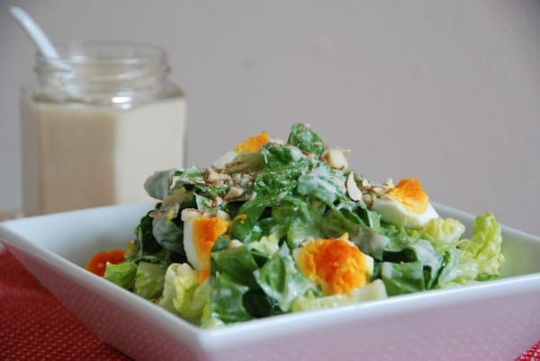 Tofu Caesar Salad Dressing
