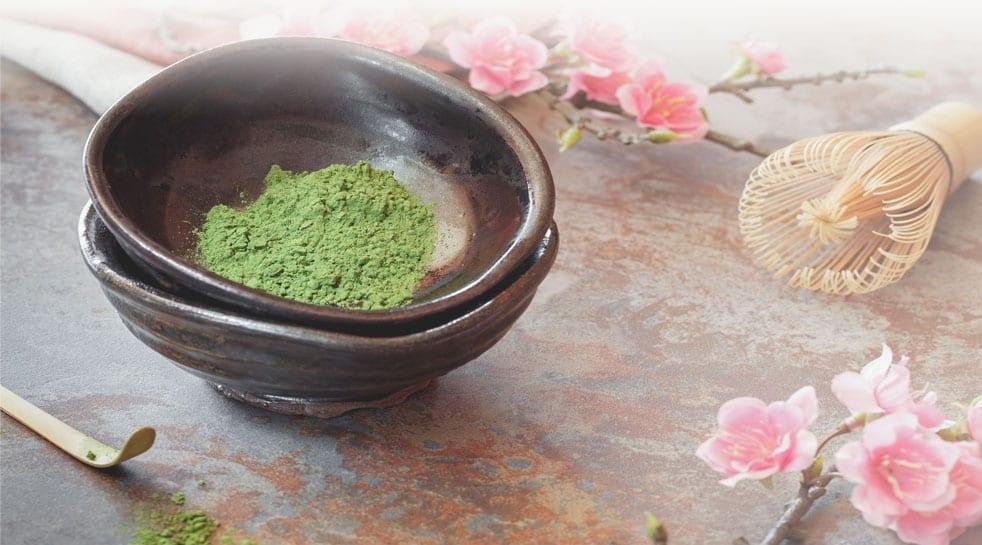 matcha green tea Japanese superfoods