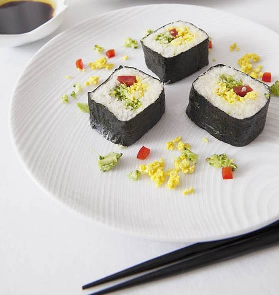 caulifower sushi-japanesesuperfood-japanesecookingclass-sydney-sushi-vegan-vegitarian-cauliflower