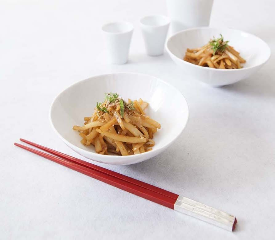 daikon skin kinpira-japanesesuperfood-japanesecookongclass-vegan-vegetarian-daikon-japanesecuisine
