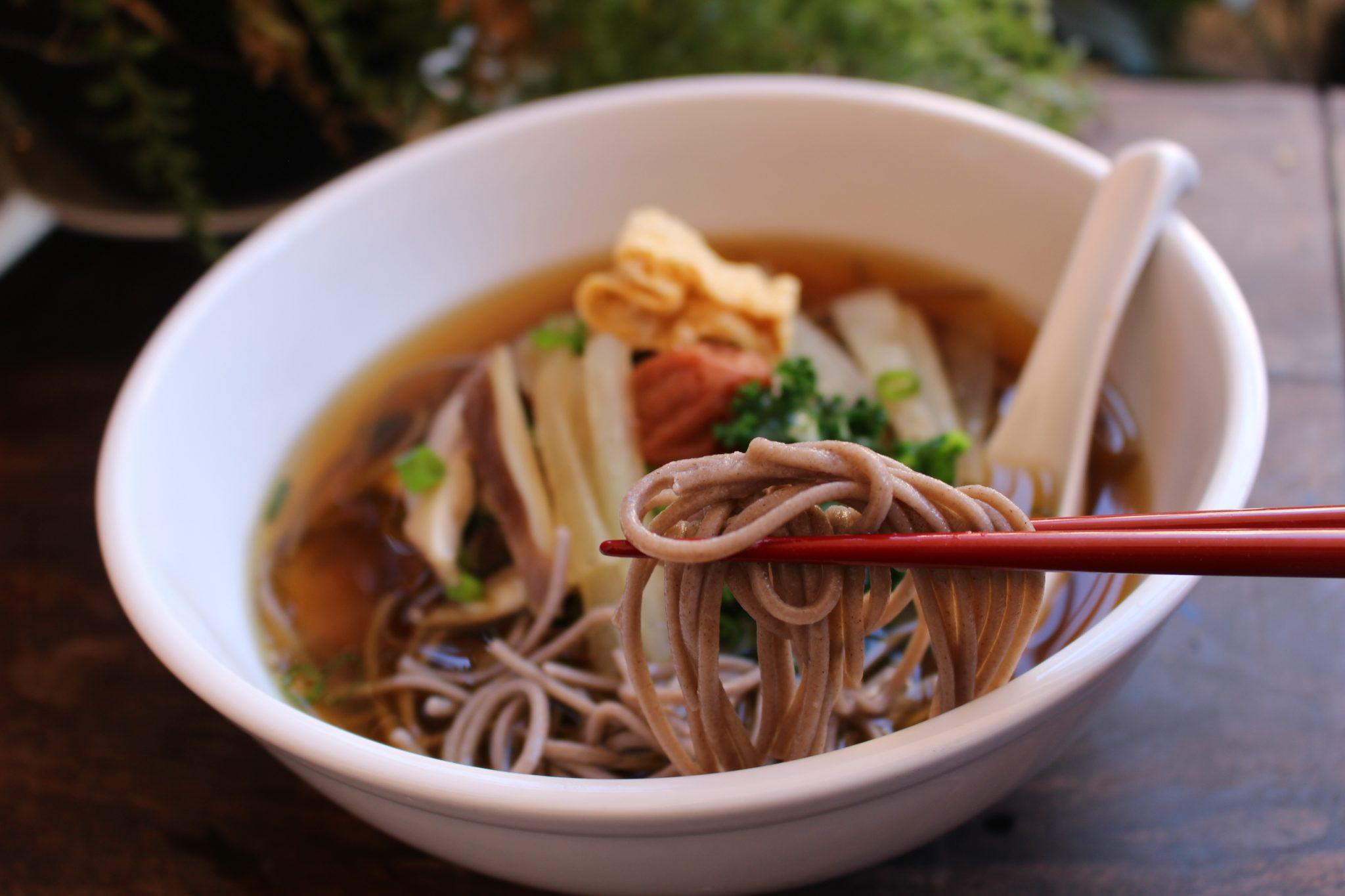 Japanese _soba_noodle_soup