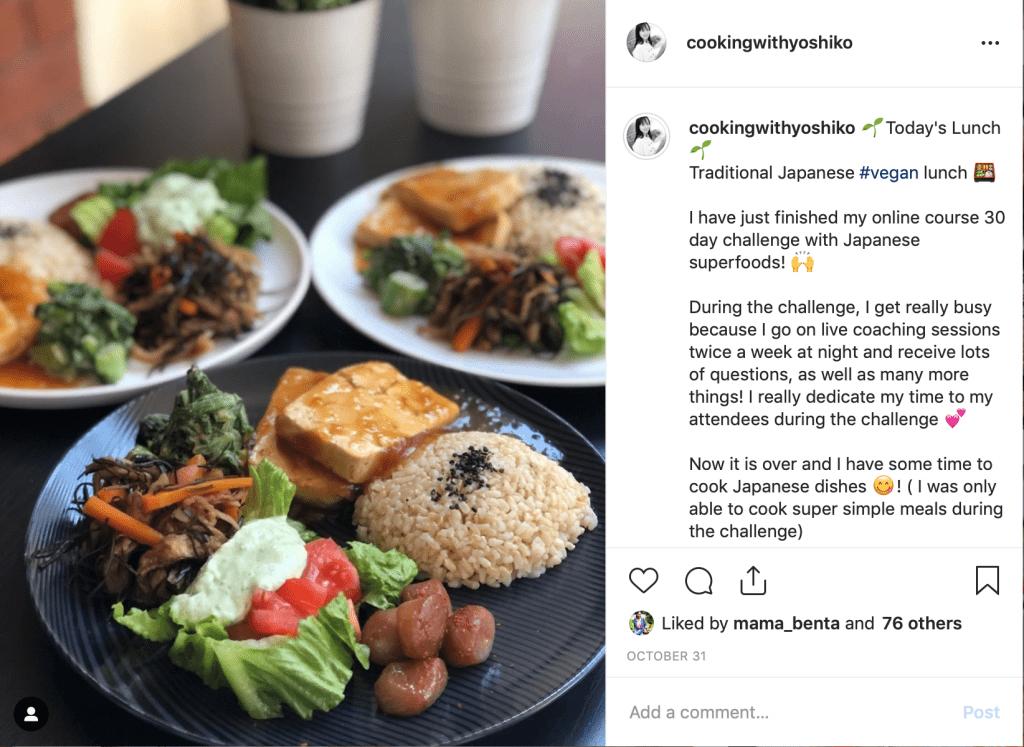 vegan Japanese lunch kiriboshi daikon