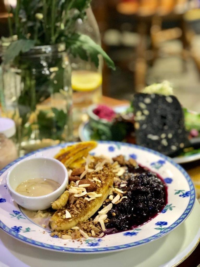 tahini porridge